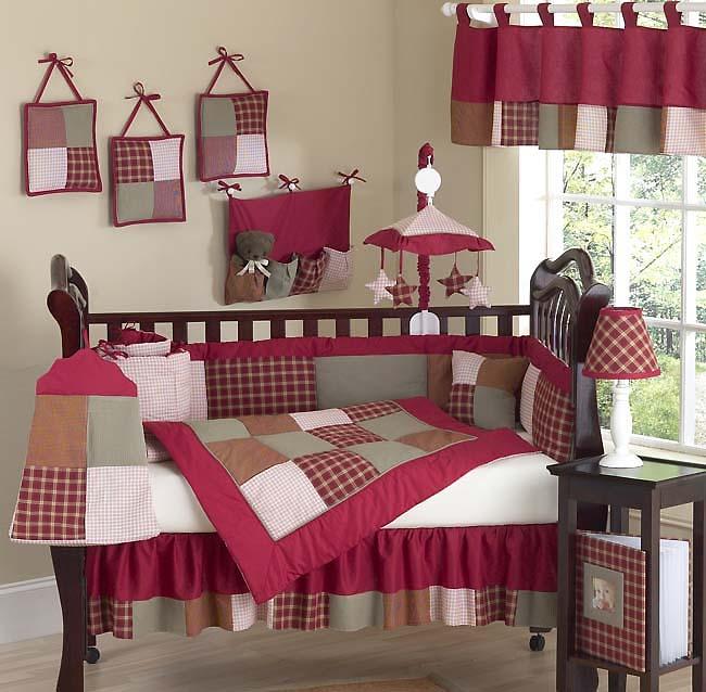 Casey S Cabin Designer Western Cowboy Baby 9 Piece Crib Set