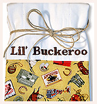Baby Buckaroo Style : Lil' Buckeroo Burp Cloth